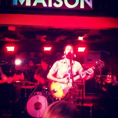 Photo taken at Maison by James B. on 3/11/2012