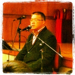 Photo taken at Cheung On Tak Lecture Theatre 張安德演講廳 by 蒙兀ナイト K. on 3/25/2012