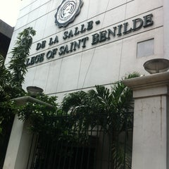 Photo taken at De La Salle - College of Saint Benilde by Tracy M. on 8/30/2012