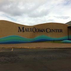 Photo taken at Maui Ocean Center, The Hawaiian Aquarium by hnygirl2000 on 6/20/2012