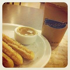 Photo taken at Fran's Café by Kayo R. on 8/19/2012