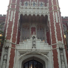 Photo taken at Bizzell Memorial Library by Thomas I. on 5/11/2012