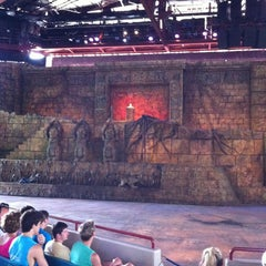 Photo taken at Indiana Jones Epic Stunt Spectacular! by Michael G. on 3/24/2012