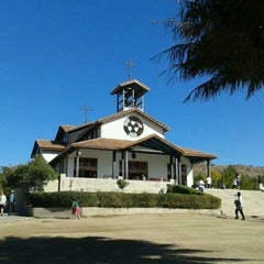 Photo taken at Santuario Santa Teresita de los Andes by Alejandr on 4/7/2012