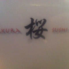 Photo taken at Sakura Sushi Japanese Restaurant by TaraxLee X. on 4/7/2012