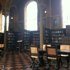 Photo taken at Hoose Library of Philosophy (MHP) by Brittany B. on 4/30/2012