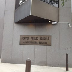 Photo taken at Denver Public Schools Administration Building by Jay W. on 8/23/2012