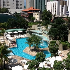 Photo taken at Mercure Recife Mar Hotel Conventions by Claudio C. on 6/9/2012