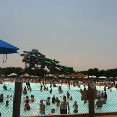 Photo taken at Zoombezi Bay Waterpark by rebecca b. on 7/1/2012