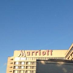 Photo taken at Toronto Airport Marriott Hotel by Luke W. on 6/12/2012
