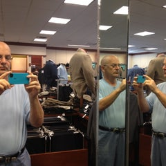 Photo taken at Jos. A. Bank Clothiers Inc. by Daniel W. on 7/14/2012