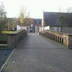 Photo taken at Kasteel Well by Ad L. on 3/23/2012