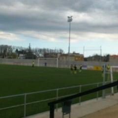 Photo taken at Camp De Futbol De St. Pere Pescador by Jaume S. on 3/18/2012
