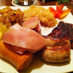 Photo taken at Die Stube German Bar & Resto by Meggy Mumu on 3/15/2012