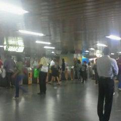 Photo taken at MetrôRio - Estação Central by Joyce F. on 5/23/2012