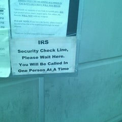 Photo taken at IRS by Valerie A. on 5/7/2012