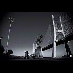 Photo taken at Ponte Vasco da Gama by Luis F. on 8/30/2012