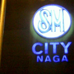 Photo taken at SM City Naga by Arnel T. on 8/25/2012