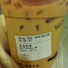 Photo taken at Gong Cha 贡茶 by Agnes X. on 7/8/2012
