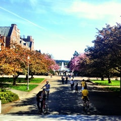 Photo taken at University of Washington by Kate K. on 4/21/2012
