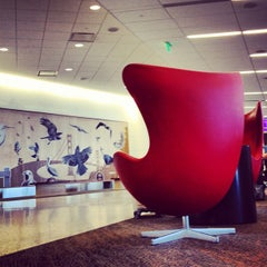 Photo taken at Virgin America by Mike D. on 5/27/2012