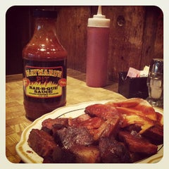 Photo taken at Hayward's Pit Bar-B-Que by Abigail M. on 6/17/2012