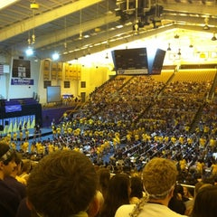 Photo taken at Convocation Center by Rachel J. on 8/22/2012