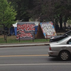Photo taken at Occupy K St. by Paul R. on 4/26/2012