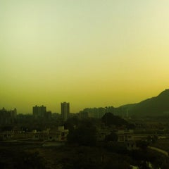 Photo taken at Central Park Kharghar by Jitendra S. on 2/19/2012