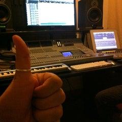 "Photo taken at Prosantana Recording Studio, Creative Gallery by Carlos ""Charlie"" S. on 3/30/2012"