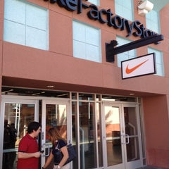 Photo taken at Nike Factory Store by Sheila V. on 3/22/2012