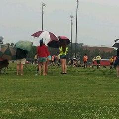 Photo taken at Lake Taylor Soccer Field by Princess M. on 5/5/2012