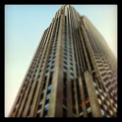 Photo taken at 30 Rockefeller Plaza by Sean L. on 5/10/2012