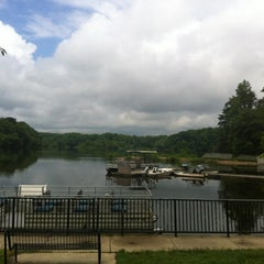 Photo taken at Lake Accotink Park by Mónica C. on 5/22/2012