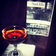 Photo taken at Dutch Kills by Brandon R. on 3/22/2012