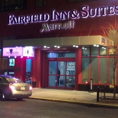 Photo taken at Fairfield Inn & Suites New York Manhattan/Times Square by Adrian M. on 2/11/2012
