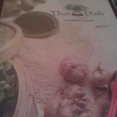 Photo taken at Thai dish by Luis R. on 8/21/2012