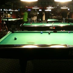 Photo taken at Galaxy Billiards Cafe by Erlie P. on 4/15/2012