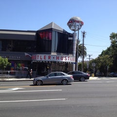 Photo taken at Hustler Hollywood by Pejmahn K. on 6/14/2012