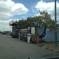 Photo taken at Skate park by Edwin B. on 4/17/2012