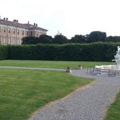 Photo taken at Villa Visconti Borromeo Litta by Marco P. on 5/26/2012