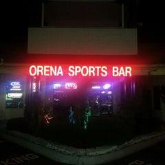 Photo taken at Orena Sports Bar by Daniel A. on 8/19/2012