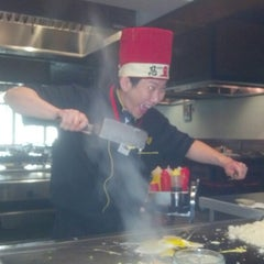 Photo taken at Fuji Japanese Steakhouse by Alison on 9/6/2012