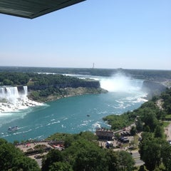 Photo taken at Sheraton on the Falls Hotel by Bryan F. on 6/30/2012