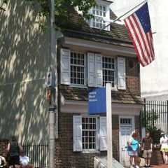 Photo taken at Betsy Ross House by Kyle S. on 7/16/2012
