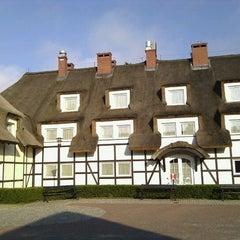 Photo taken at Dwor Oliwski Hotel Gdansk by Iris B. on 7/5/2012