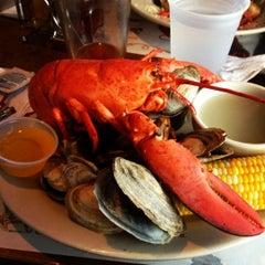 Photo taken at J's Oyster Bar by Jenna J. on 7/4/2012