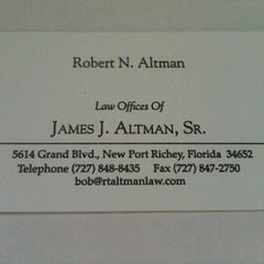 Photo taken at Altman Law Offices by Steven Z. on 4/9/2012