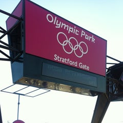 Photo taken at London 2012 Olympic Park by Steve B. on 8/4/2012