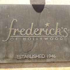 Photo taken at Frederick's of Hollywood by Jeff A. on 4/22/2012
